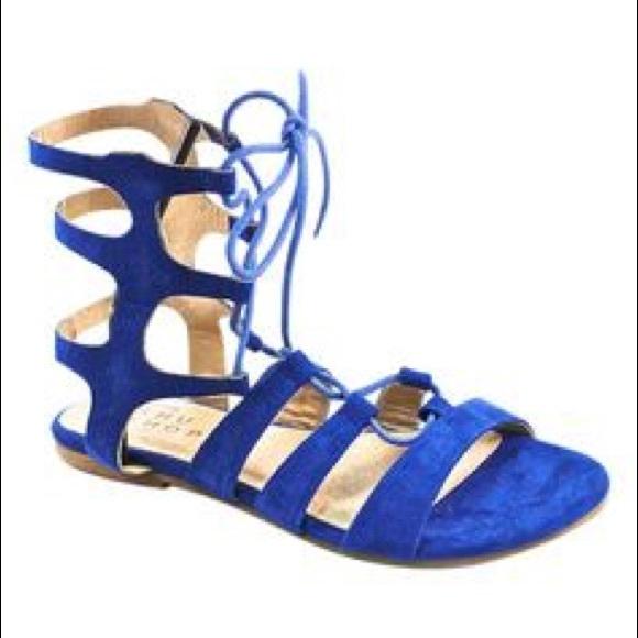 e6dd7ef30de Shu Shop Royal Blue Gladiator Sandal. M 5c59fcc56a0bb78f6cc2eef9